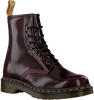 Rote DR MARTENS Schnürboots 1460 VEGAN  - small