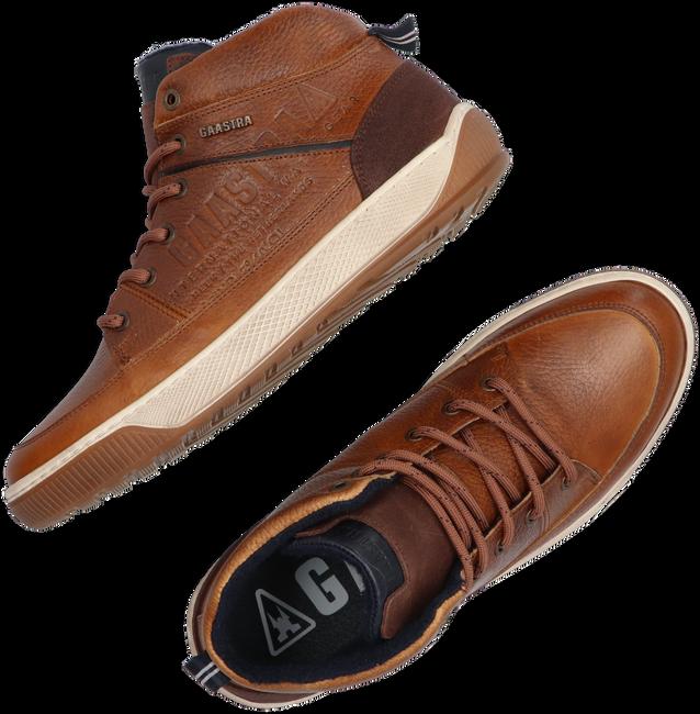 Cognacfarbene GAASTRA Sneaker high DENZEL MID TMB  - large