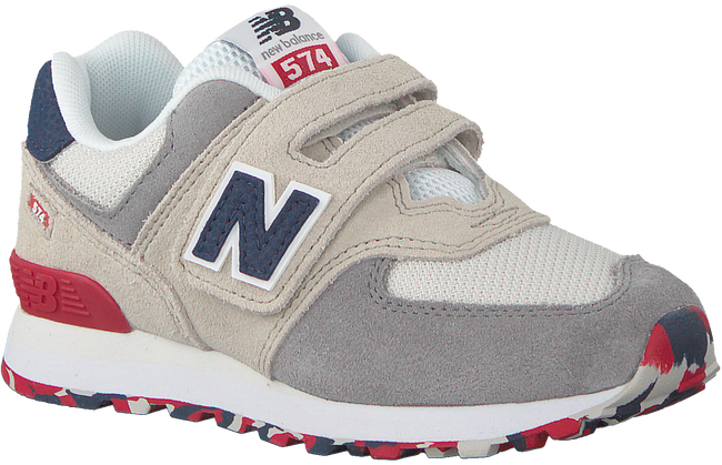 Weiße NEW BALANCE Sneaker YV574 M  - large