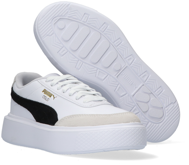 Weiße PUMA Sneaker low OSLO MAJA REVIVE WN'S  - large