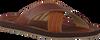 Cognacfarbene PME Pantolette HAIG  - small