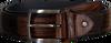 Cognacfarbene FLORIS VAN BOMMEL Gürtel 75189 - small