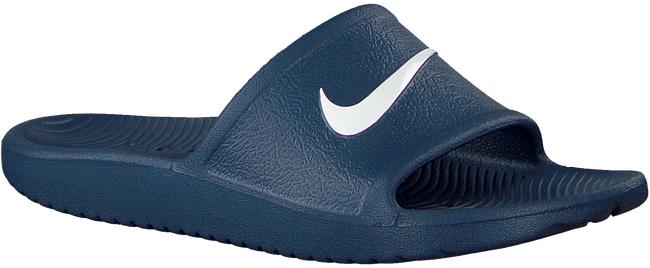 Blaue NIKE Pantolette KAWA SHOWER (GS/PS)  - large