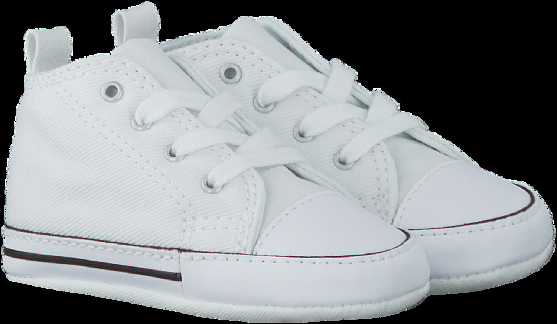 pick up 5084d 103cb Weiße CONVERSE Babyschuhe FIRST STAR