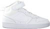 Weiße NIKE Sneaker high COURT BOROUGH MID 2 (GS)  - small