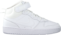 Weiße NIKE Sneaker high COURT BOROUGH MID 2 (GS)  - medium