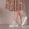 Beige VIA VAI Sneaker low JUNO UNI  - small
