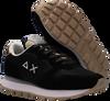 Schwarze SUN68 Sneaker low ALLY THIN GLITTER W  - small