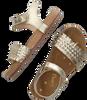 Goldfarbene APPLES & PEARS Sandalen HEATHER  - small