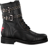 Schwarze DEABUSED Biker Boots HOLLY BIKER - small