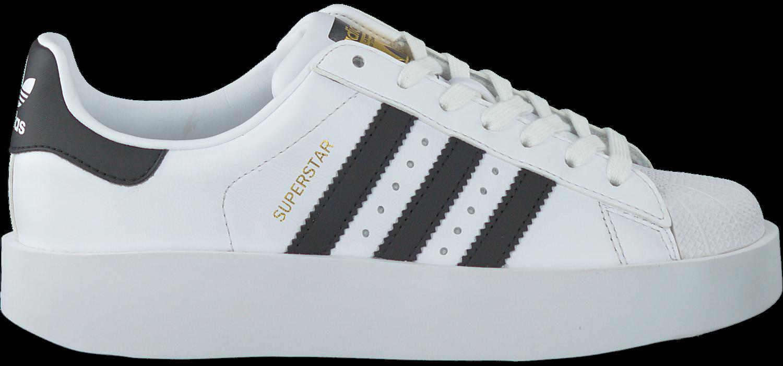 Weiße ADIDAS Sneaker SUPERSTAR BOLD W