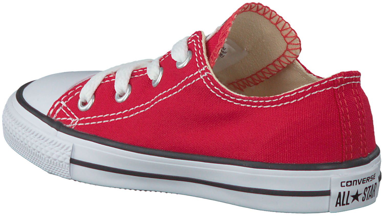 Rote Converse Sneaker CTAS OX KIDS