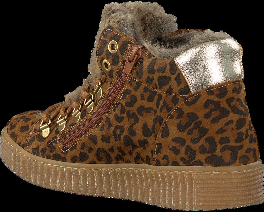 Cognacfarbene BULLBOXER Sneaker AIB504  - larger