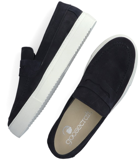 Blaue GOOSECRAFT Slip-on Sneaker CHRISTIAN CUPSOLE  - large