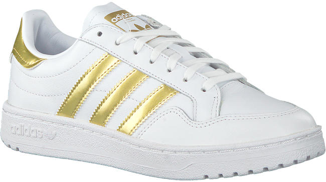 Weiße ADIDAS Sneaker low TEAM COURT W  - large