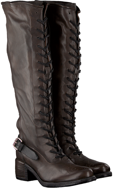 Taupe A.S.98 Hohe Stiefel 548301  - large