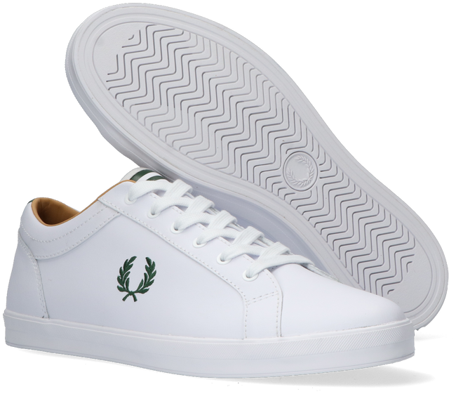 Weiße FRED PERRY Sneaker low B1228  - large