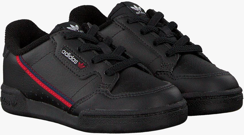 Schwarze ADIDAS Sneaker CONTINENTAL 80 I  - larger