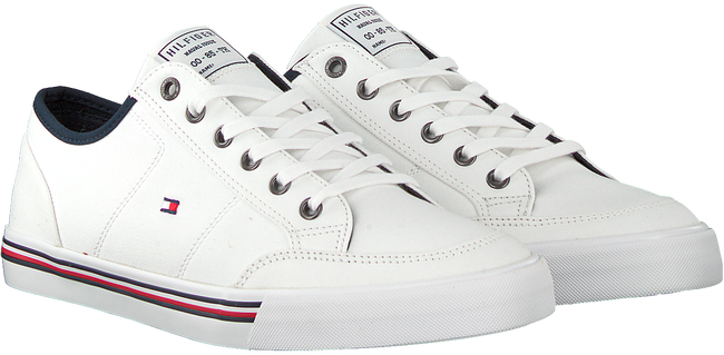 Weiße TOMMY HILFIGER Sneaker low CORE CORPORATE  - large