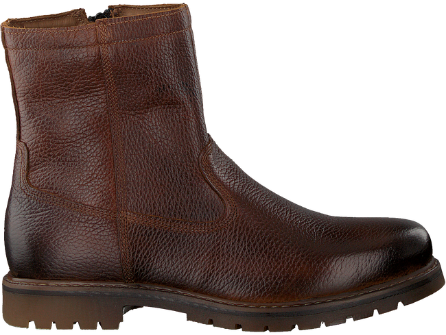 Cognacfarbene OMODA Ankle Boots 530068  - large