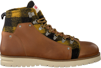 Cognacfarbene SCOTCH & SODA Schnürboots LEVANT  - medium