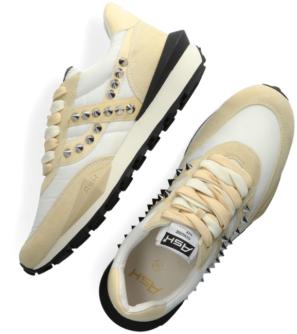 Beige ASH Sneaker low SPIDER STUD  - large