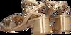 Goldfarbene ANONYMOUS COPENHAGEN Sandalen JANI 50  - small