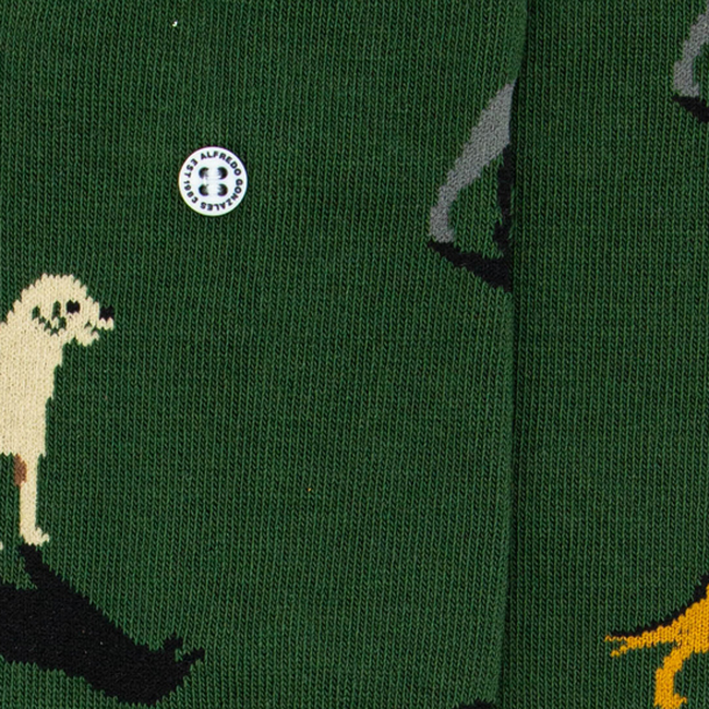 Grüne Alfredo Gonzales Socken DOGS  - large