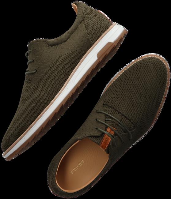 Grüne REHAB Sneaker low NOLAN KNIT  - large