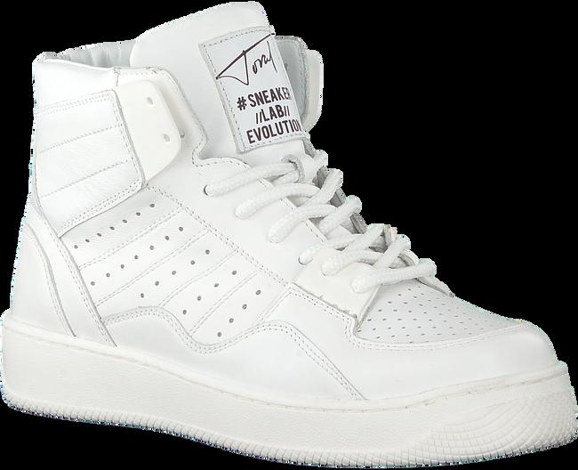 Weiße TORAL Sneaker high TL-12406  - large