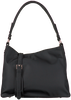 Schwarze HVISK Handtasche AMBLE NYLON RECYCLED  - small