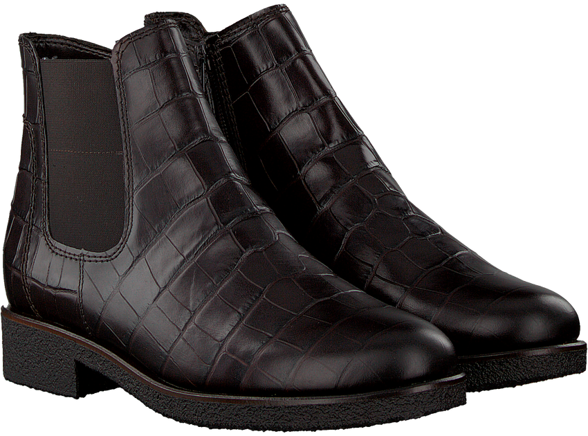 Braune GABOR Chelsea Boots 701  - larger