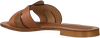 Cognacfarbene NOTRE-V Pantolette 18701  - small