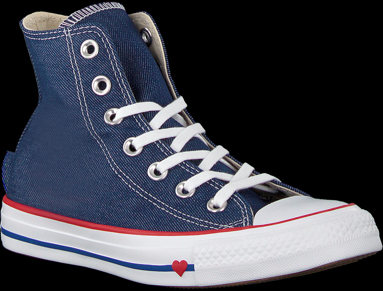 Rote CONVERSE Sneaker CHUCK TAYLOR ALL STAR HI DAMES
