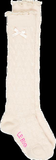 Beige LE BIG Socken MIMI KNEE HIGH  - large