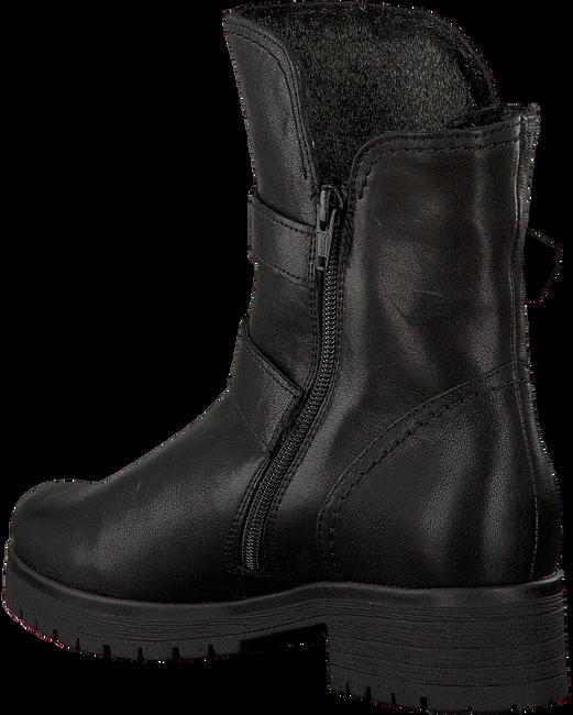Schwarze GABOR Biker Boots 093 - large