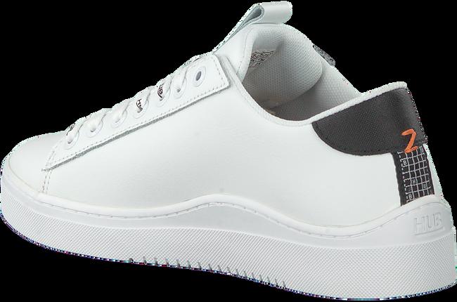 Weiße HUB Sneaker low HOOK-W  - large