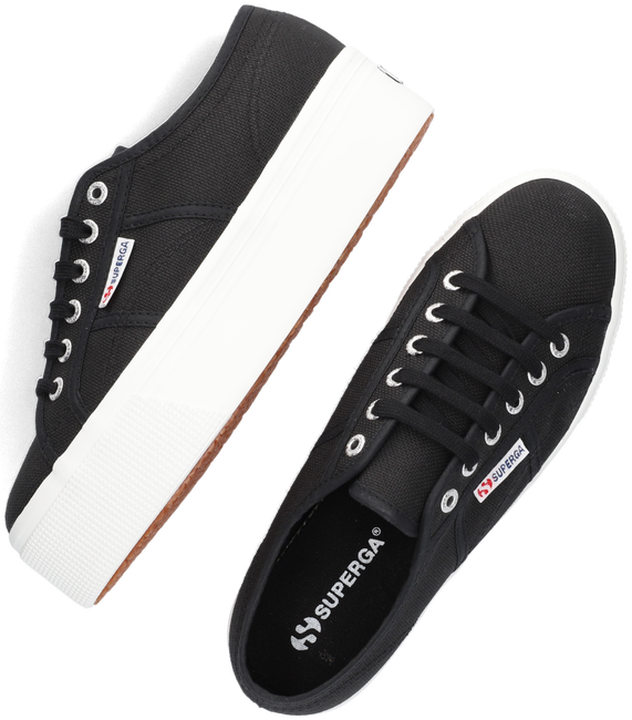 Schwarze SUPERGA Sneaker low 2790 COTW LINE UP AND DOWN  - large