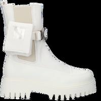 Weiße BRONX Chelsea Boots GROOV-Y  - medium