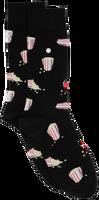 Schwarze Alfredo Gonzales Socken POPCORN  - medium