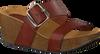 Cognacfarbene RED RAG Pantolette 78074  - small