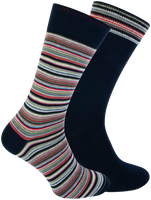 Blaue MARCMARCS Socken DION COTTON 2-PACK  - medium
