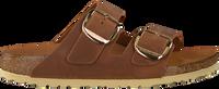 Cognacfarbene BIRKENSTOCK Pantolette ARIZONA BIG BUCKLE  - medium