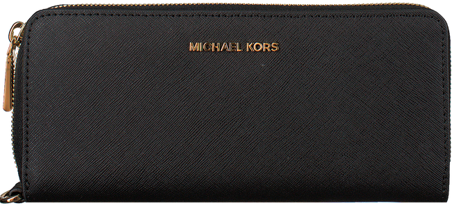 Schwarze MICHAEL KORS Portemonnaie TRAVEL CONTINENTAL - large