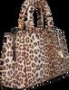Schwarze GUESS Handtasche MADDY GIRLFRIEND SATCHEL  - small