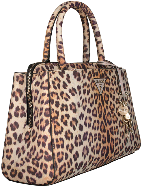 Schwarze GUESS Handtasche MADDY GIRLFRIEND SATCHEL  - large
