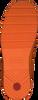 Orangene HUNTER Gummistiefel WOMENS ORIGINAL PLAY SHORT EXP  - small