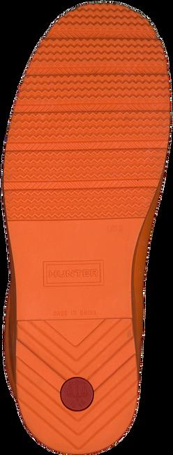 Orangene HUNTER Gummistiefel WOMENS ORIGINAL PLAY SHORT EXP  - large