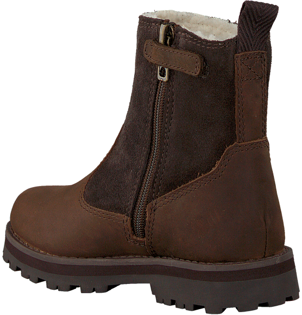 Braune TIMBERLAND Ankle Boots COURMA KID WARM LINED  - large
