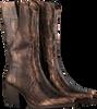 Bronzefarbene VERTON Hohe Stiefel 687-007  - small